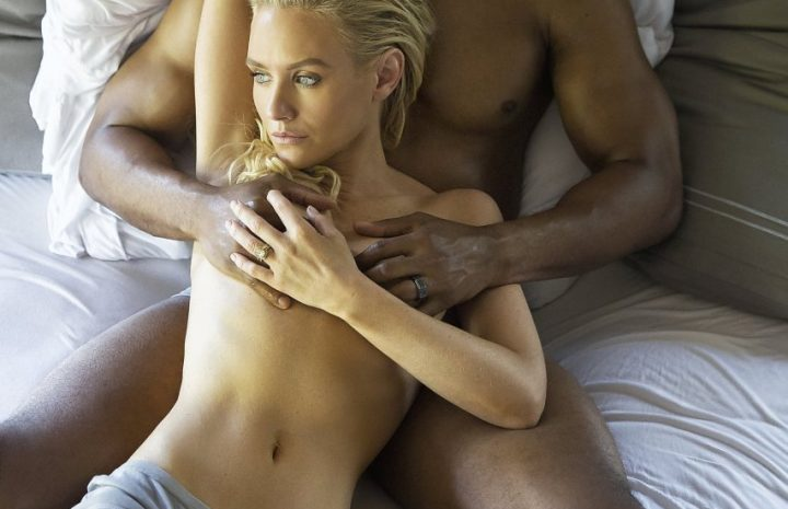 Topless Nicky Whelan Is Ready to Enjoy Some Interracial Lovin'