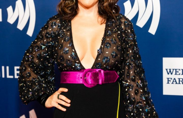 Busty MILF Actress Alyssa Milano Wows in a Cleavage-Baring Dress