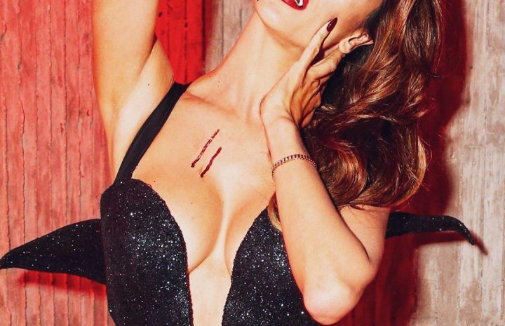 Alessandra Ambrosio's Halloween Garb Will Blow Your Mind