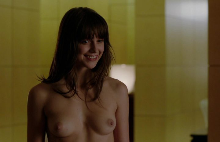 Topless Beauty Melissa Benoist Gets Her Pussy Caressed Thru the Panties