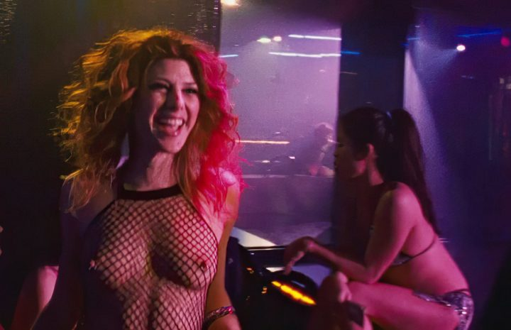 Sexy Stripper Marisa Tomei Showing Her Perfect Boobs in The Wrestler (2008)