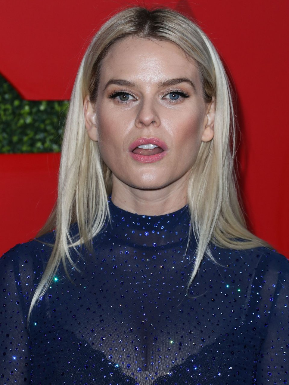 Daring Hottie Alice Eve Flashing Her Body in a Transparent