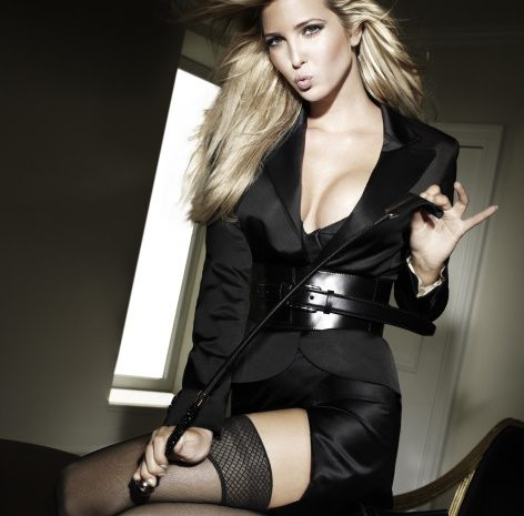 Ivanka Trump Shows Her Enviable Body in a Revealing Dress and Stockings
