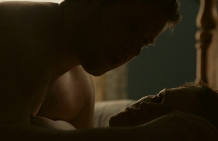 Naked Anna Paquin Enjoying Hot Sex and Showing Her Pointy Nipples