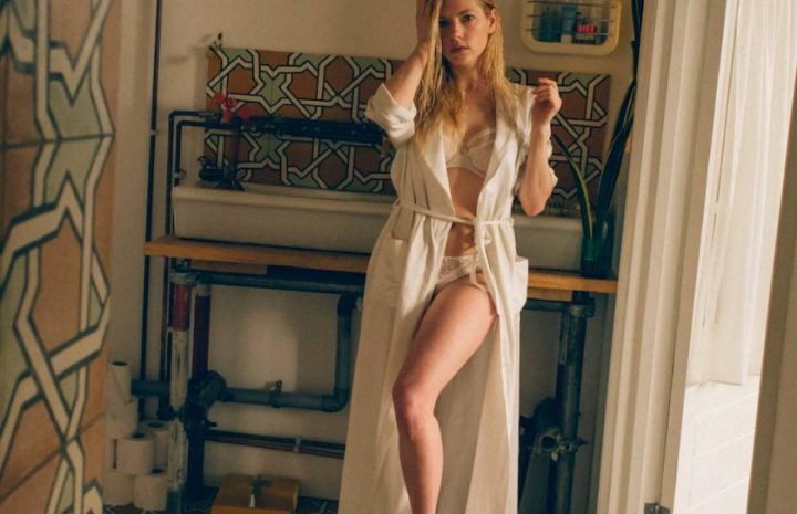 Katheryn Winnick Looking Sophisticated and Seductive in Her Lingerie