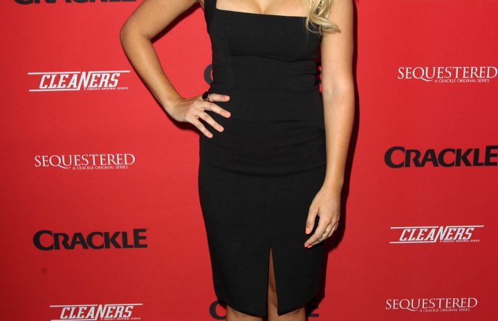 Blonde Emily Osment Looks Sensational at Some Event (10 Photos)