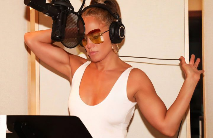 Jennifer Lopez Looks Hot While Recording Songs for Her New Album
