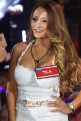 Playful Reality TV Star Tila Tequila Shows Her Body in a Hot Dress