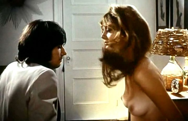 Young Susan Sarandon Showing Her Breasts in a Sensuous Scene
