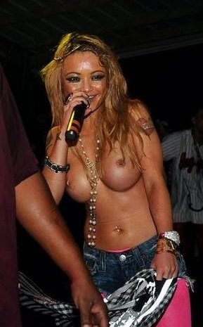 Tila Tequila Goes Topless During One of Her Famous Concerts