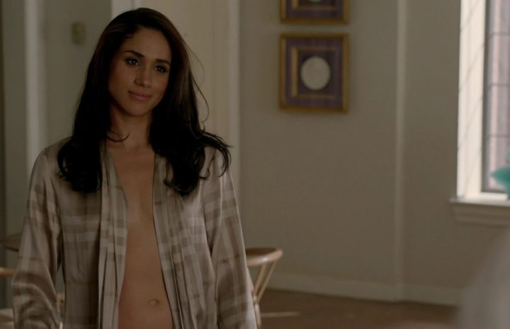Irresistible Meghan Markle Goes Topless in a Crazy Hot Scene