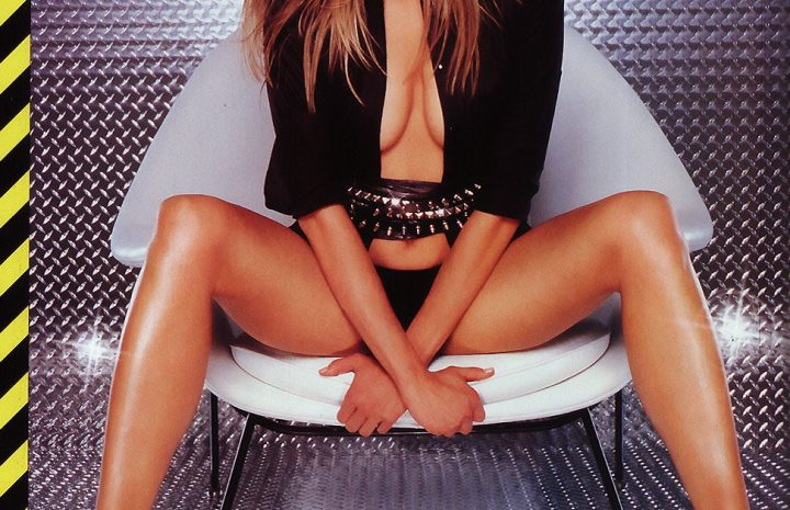 Seductive Blonde Brooke Burns Showing Her Extra-Fit Body
