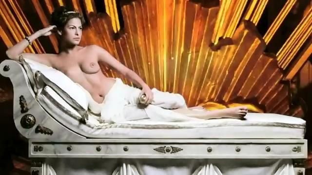 Topless Eva Mendes is a Part of a Fairly Pretentious Art Project