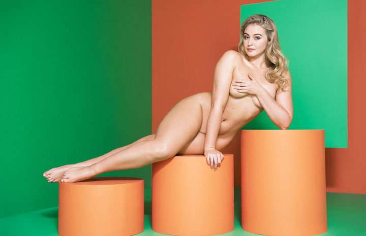 Overweight Model Iskra Lawrence Strips Naked to Promote Obesity