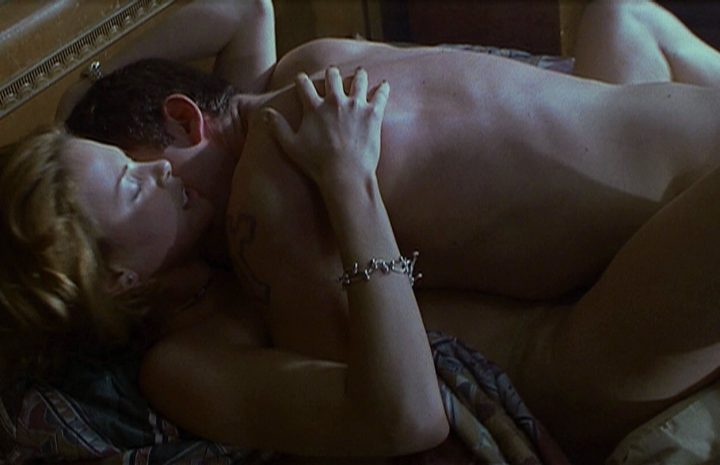 Hottest Charlize Theron Screencaps from Reindeer Games (2000)