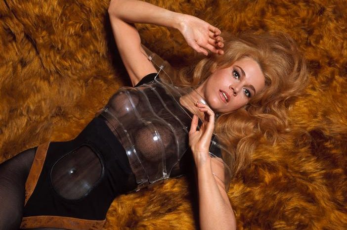 Jane Fonda's See-Through Outfit from Barbarella is Pretty Damn Sexy