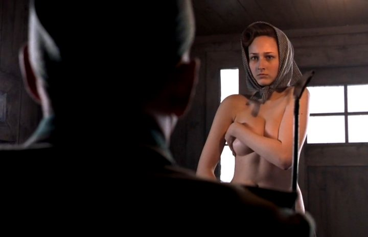Leelee Sobieski Forced to Strip Naked by a Horned-up Nazi