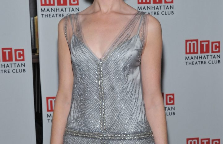 Alexis Bledel Looks Adorable While Showing Her Ample Cleavage