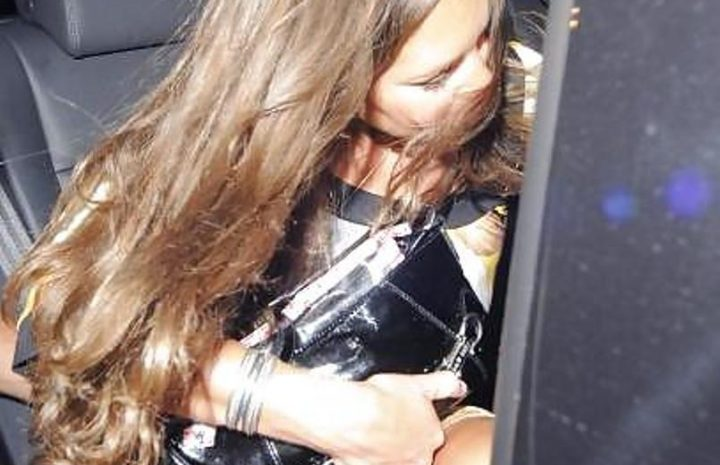 Young Kate Middleton Flashes Her Panties After a Wild Party