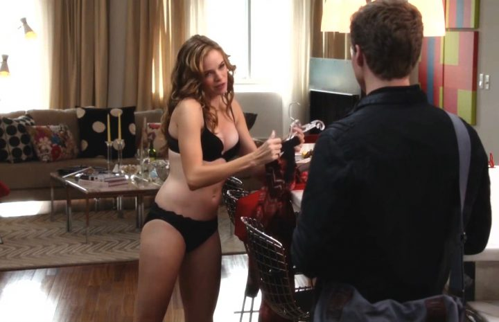 Danielle Panabaker's Much-Hyped Lingerie Scene Did Not Disappoint