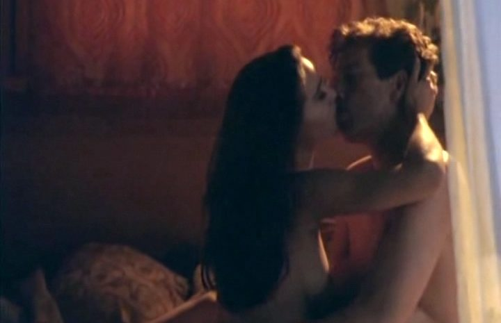 Brunette Claire Forlani Riding Dick and Being Seductive