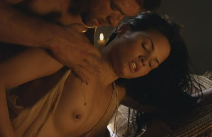 Stunning Katrina Law Goes Topless in a Rather Violent Sex Scene