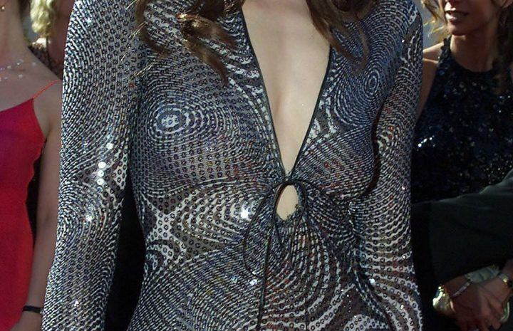 Confident Geena Davis Sluts It Up in a Vaguely See-Through Outfit