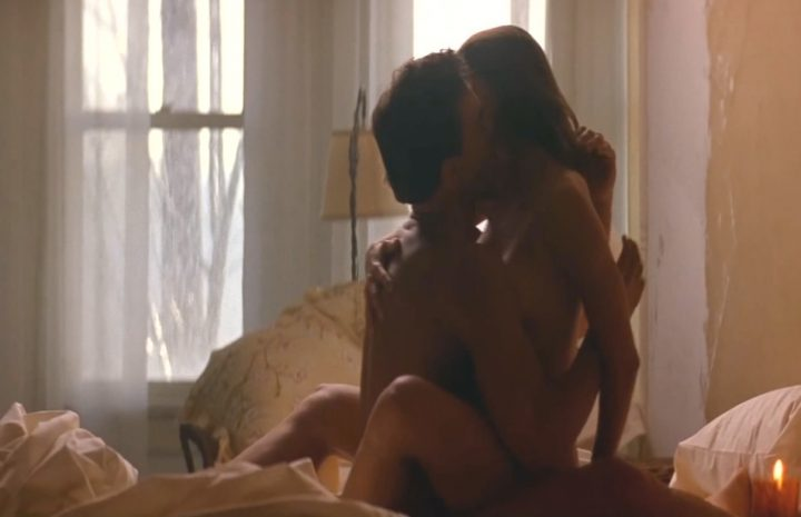 Mia Sara Shows Her Goodies in a Gratuitous Fuck Scene with JCVD