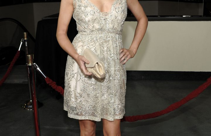 Seductive Stana Katic Turning Heads in a Very Sexy Dress (10 HQ Pics)