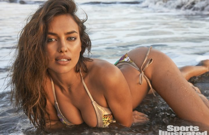Bodacious Brunette Irina Shayk Displaying Her Enviable Physique for Sports Illustrated