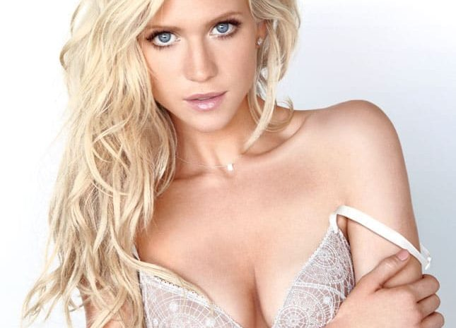 Gifted Actress Brittany Snow Strips to Her Lingerie for Maxim