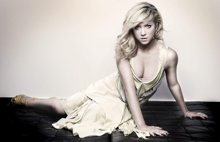 Gorgeous Blonde Brittany Snow Posing in Sexy Outfits to Tease the Camera