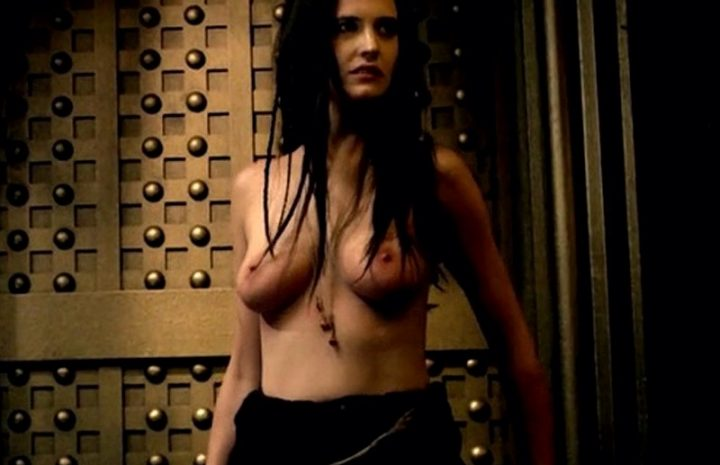 Topless Eva Green is About to Get Power-Fucked from Behind