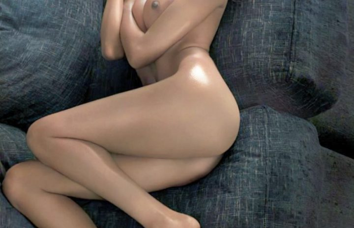 Nude Olivia Culpo Spotlighting Her Exceptional Physique While All Oiled-Up