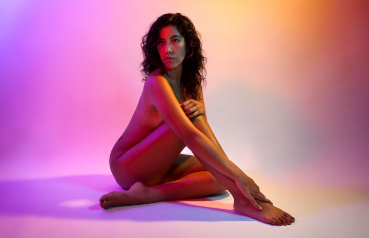 Gorgeous Stephanie Beatriz Finally Strips Naked to Make You Cum for Real