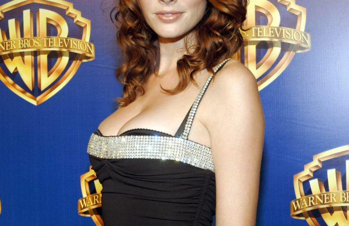 April Bowlby Displaying Her Cleavage (Photos from Different Public Events)