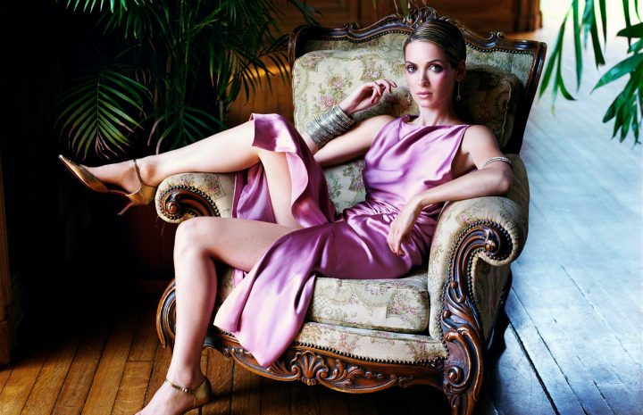 Chic Winona Ryder Photoshoot Focusing on Her Sexy Legs and Feet