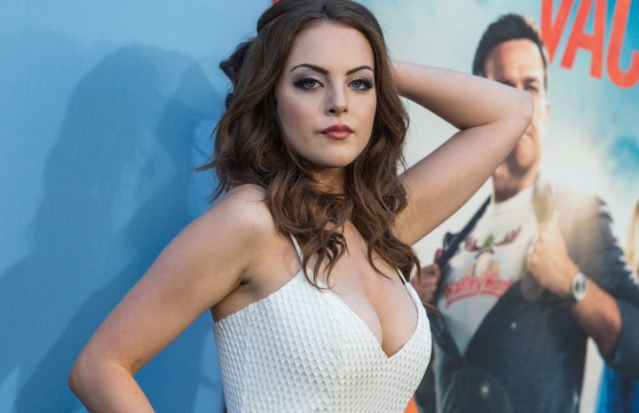Chesty Beauty Elizabeth Gillies Spotlighting Her Rack in a Perfect Gallery
