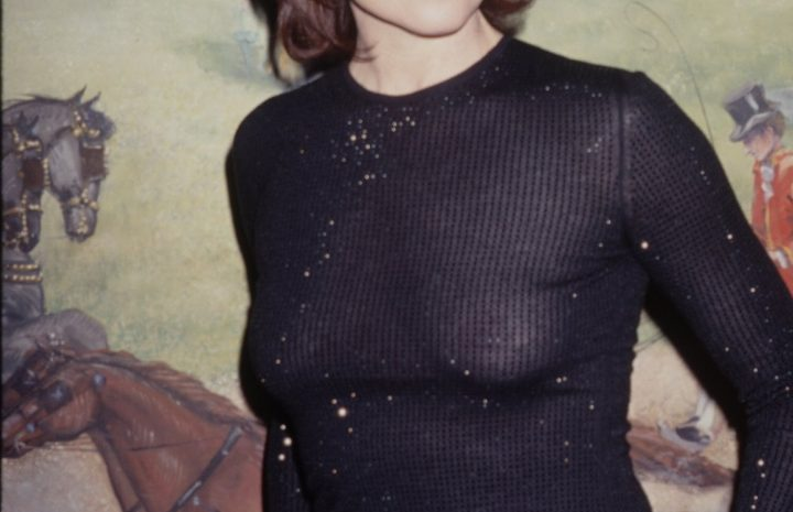 Short-Haired Beauty Sigourney Weaver Showing Her Ample Cleavage