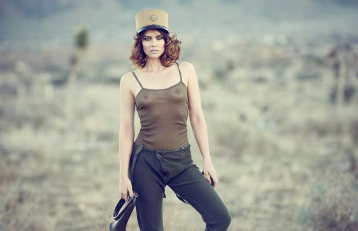 Badass Beauty Lauren Cohan Loves Teasing with Her Titties and More