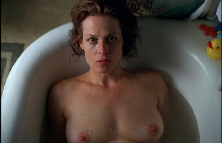 Hollywood Legend Sigourney Weaver Displaying Her Beautiful Breasts and Bush