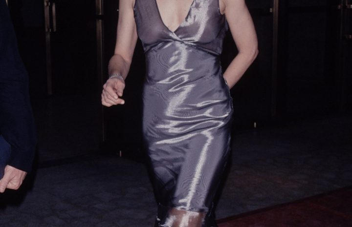 Stunning Sigourney Weaver Displaying Her Ample Cleavage in a Hot Dress