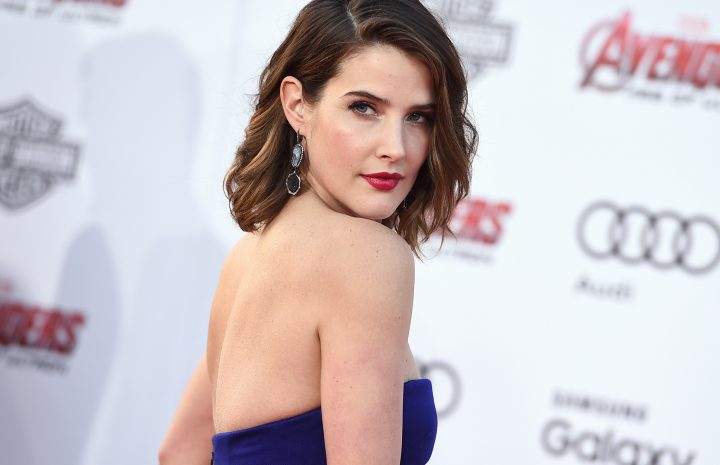 Crazy Hot Hollywood Babe Cobie Smulders Shows Her Boobs and Legs